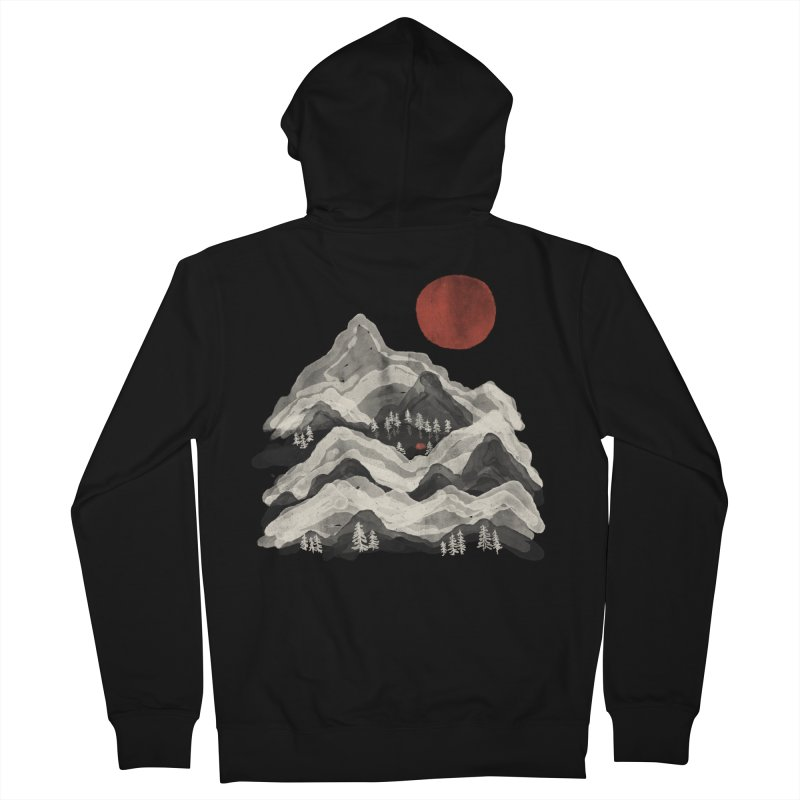 Moon Lake... Women's Zip-Up Hoody by NDTank's Artist Shop