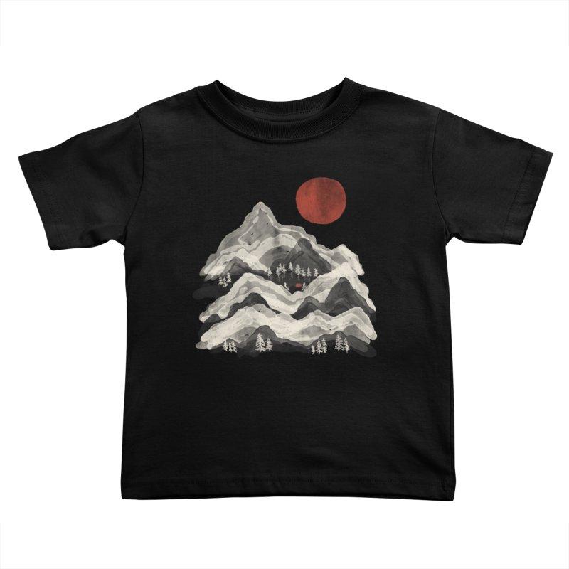 Moon Lake... Kids Toddler T-Shirt by NDTank's Artist Shop