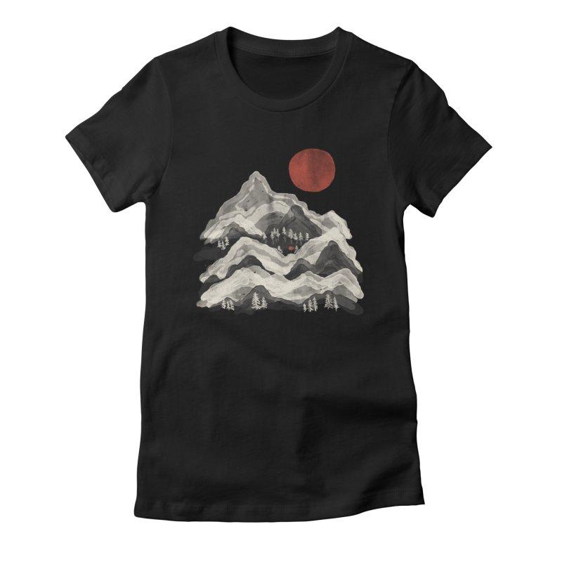 Moon Lake... Women's T-Shirt by NDTank's Artist Shop