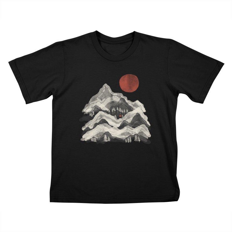 Moon Lake... Kids T-Shirt by NDTank's Artist Shop