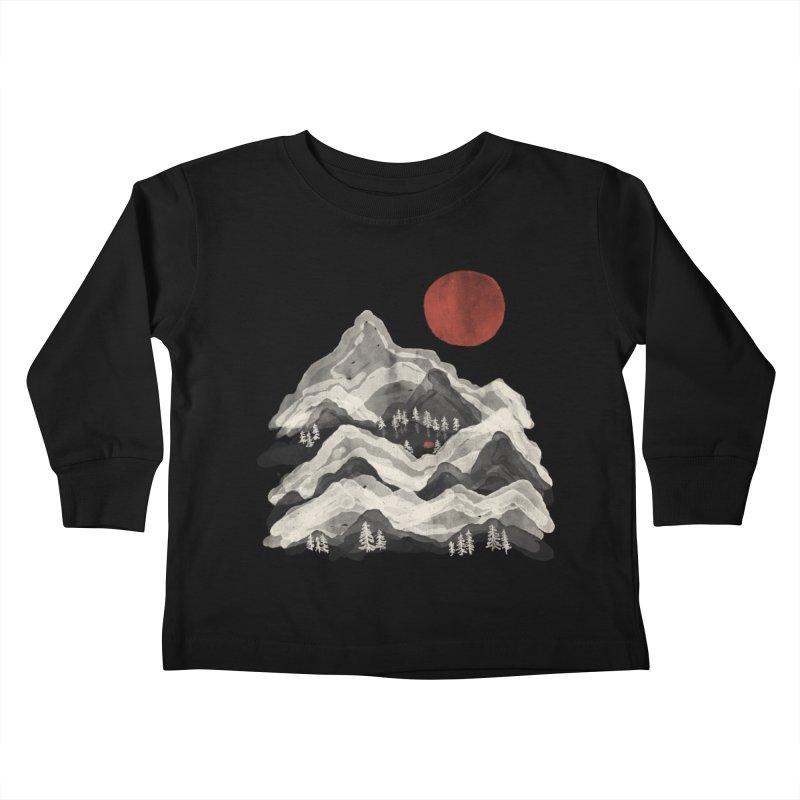 Moon Lake... Kids Toddler Longsleeve T-Shirt by NDTank's Artist Shop