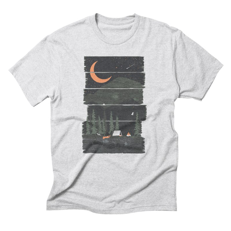 Wish I Was Camping... Men's T-Shirt by NDTank's Artist Shop