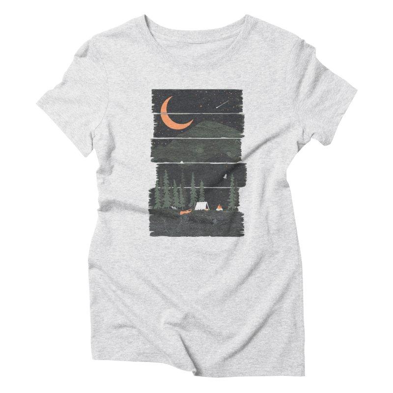 Wish I Was Camping... Women's T-Shirt by NDTank's Artist Shop