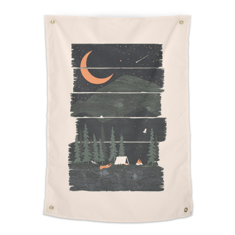 Wish I Was Camping... Home Tapestry by NDTank's Artist Shop