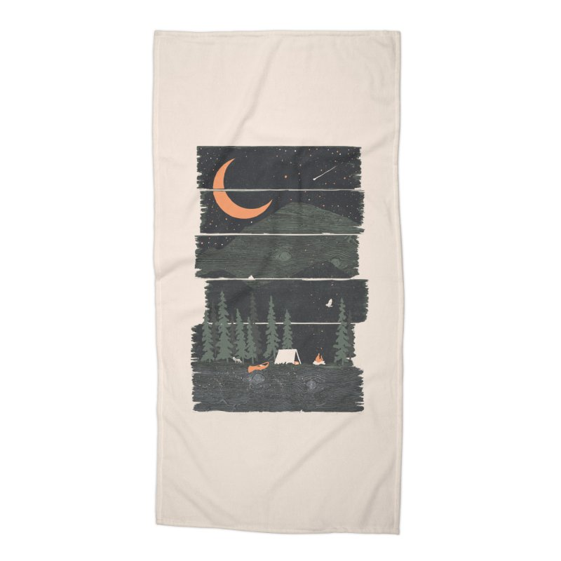 Wish I Was Camping... Accessories Beach Towel by NDTank's Artist Shop