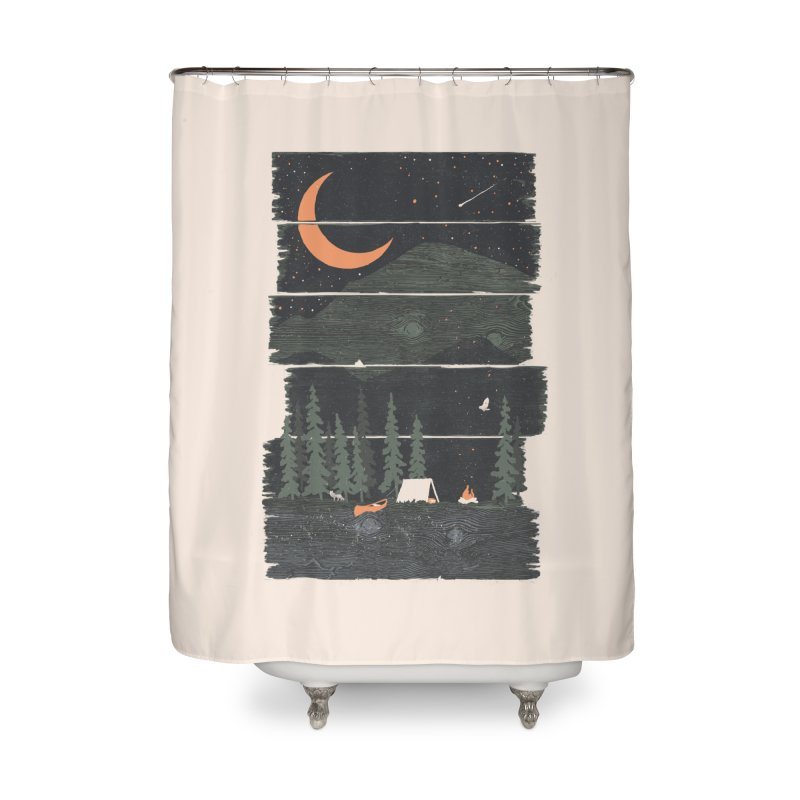 Wish I Was Camping... Home Shower Curtain by NDTank's Artist Shop