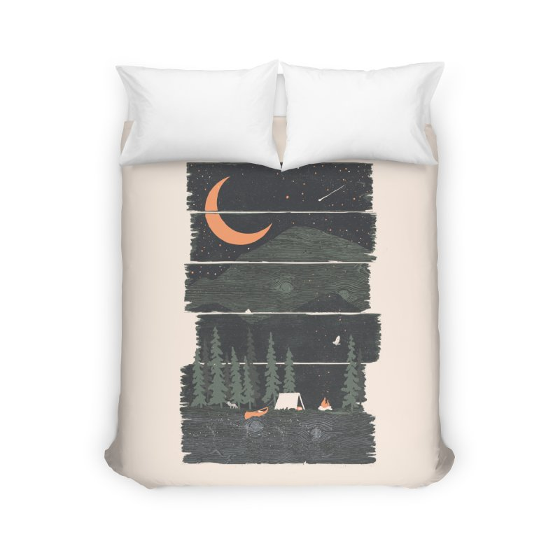 Wish I Was Camping... Home Duvet by NDTank's Artist Shop