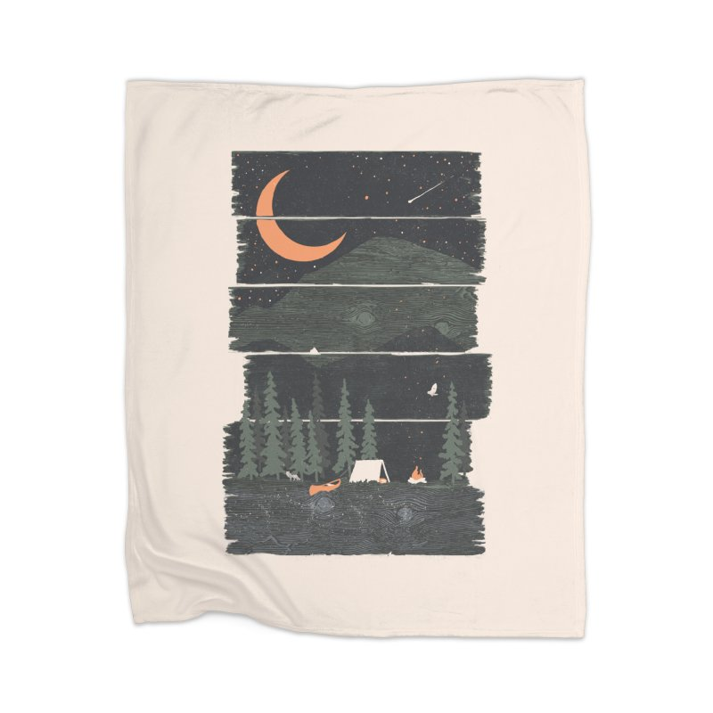 Wish I Was Camping... Home Blanket by NDTank's Artist Shop