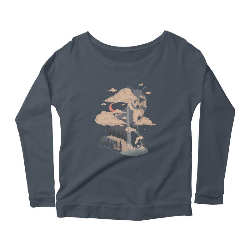 At the Foot of Fox Mountain... Women's Longsleeve T-Shirt by NDTank's Artist Shop