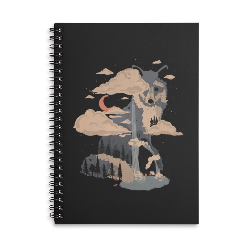 At the Foot of Fox Mountain... Accessories Notebook by NDTank's Artist Shop