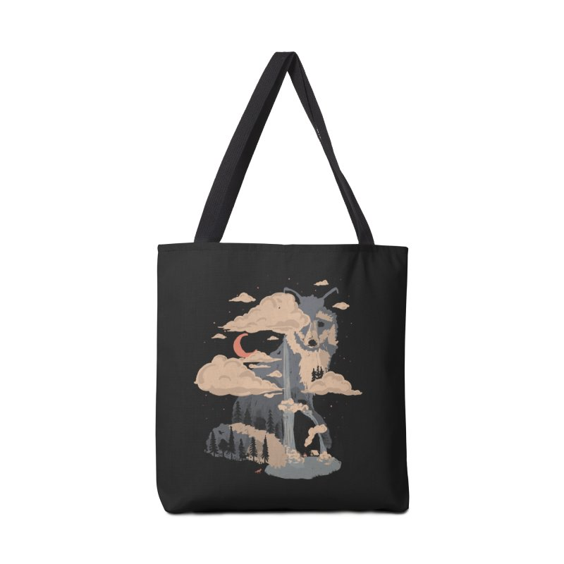 At the Foot of Fox Mountain... Accessories Bag by NDTank's Artist Shop
