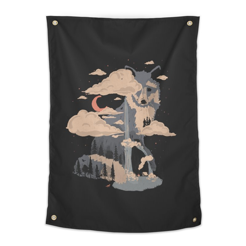 At the Foot of Fox Mountain... Home Tapestry by NDTank's Artist Shop