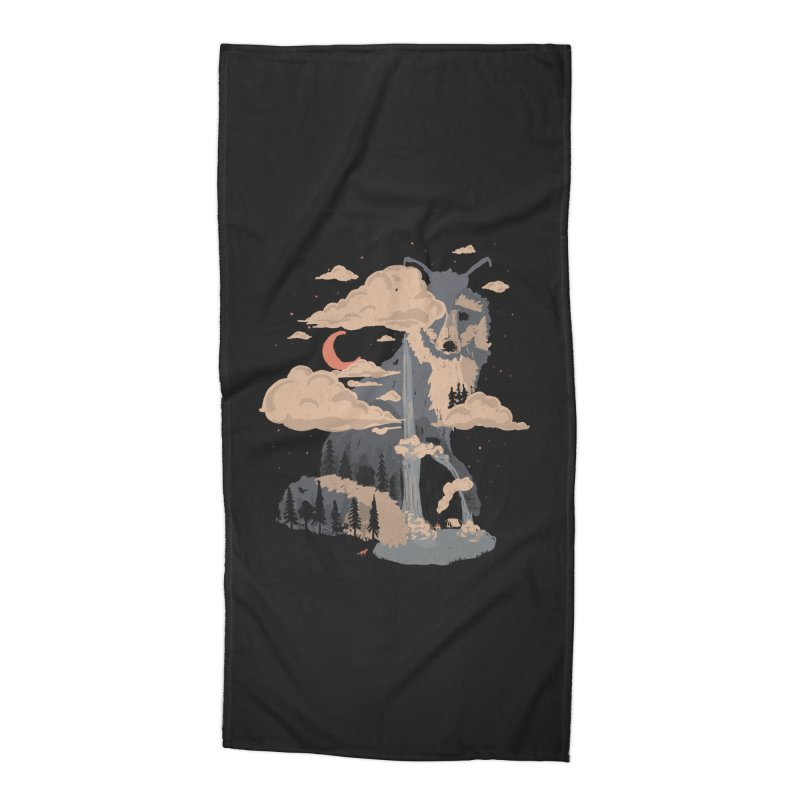 At the Foot of Fox Mountain... Accessories Beach Towel by NDTank's Artist Shop