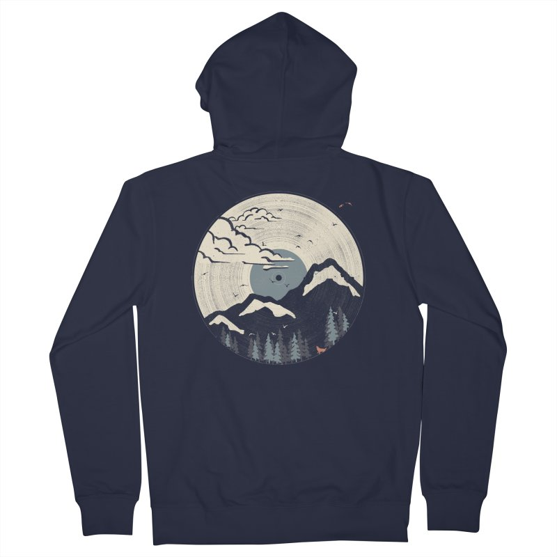 MTN LP... (Blue Variant) Women's Zip-Up Hoody by NDTank's Artist Shop
