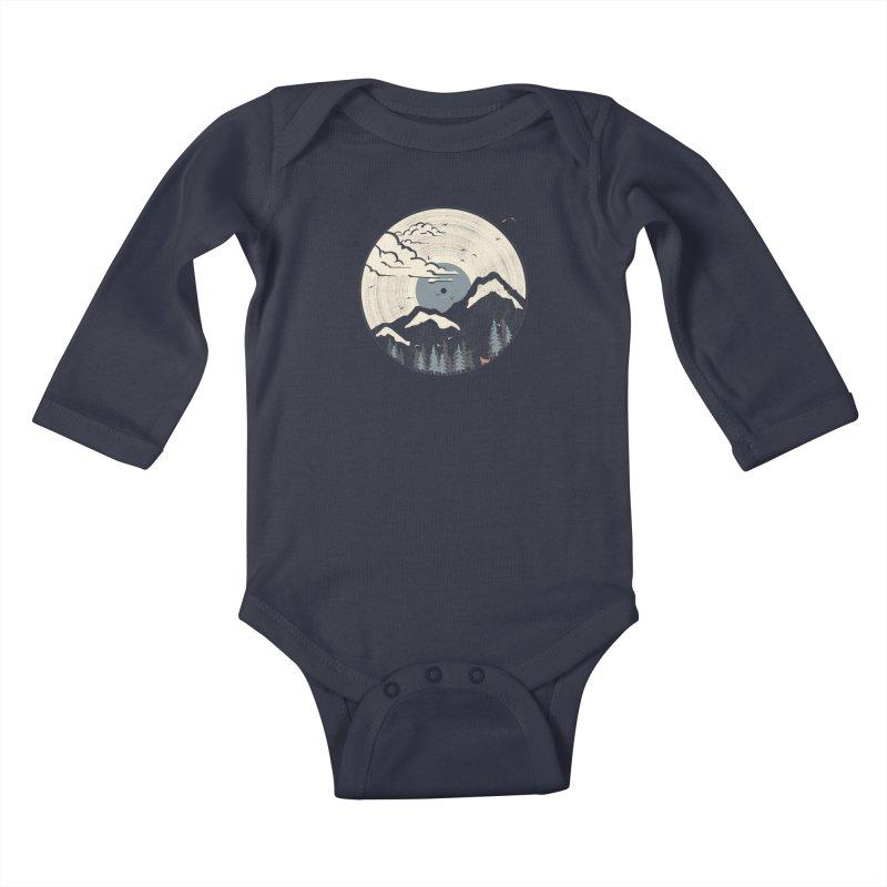MTN LP... (Blue Variant) Kids Baby Longsleeve Bodysuit by NDTank's Artist Shop