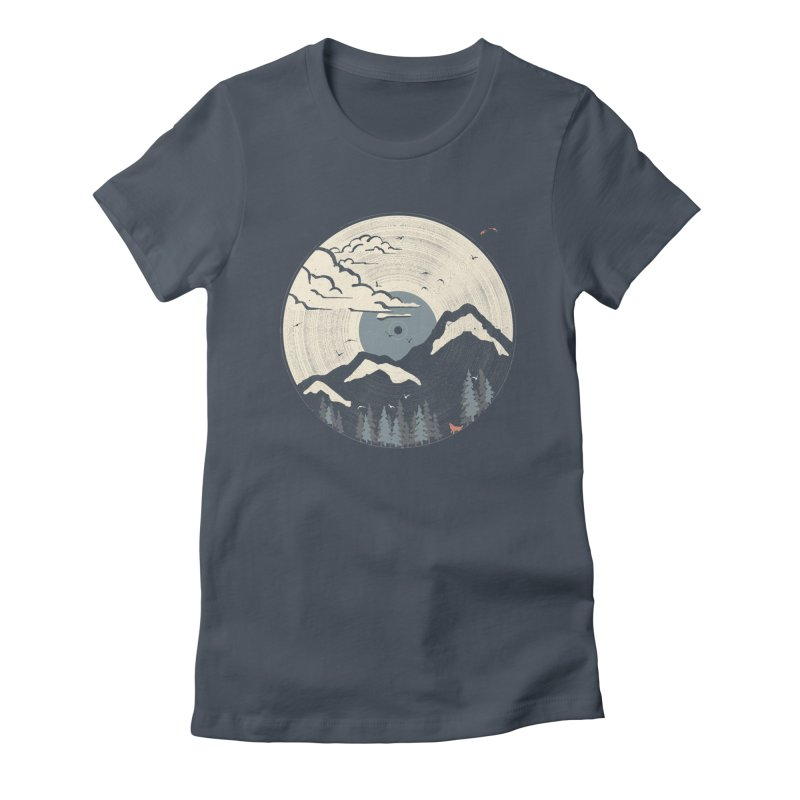 MTN LP... (Blue Variant) Women's T-Shirt by NDTank's Artist Shop