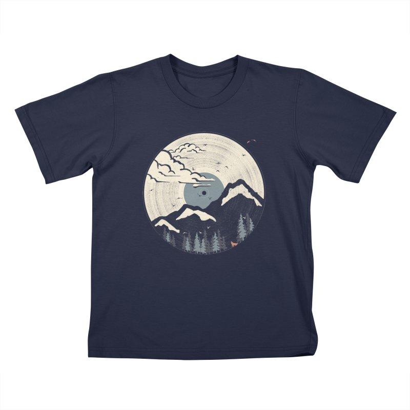 MTN LP... (Blue Variant) Kids T-Shirt by NDTank's Artist Shop