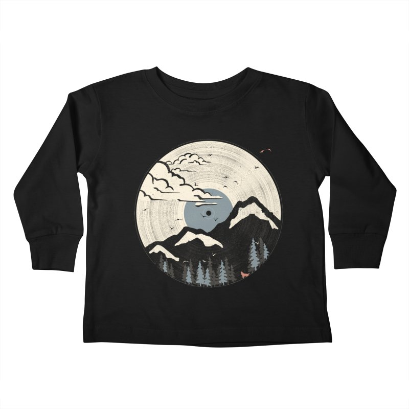 MTN LP... (Blue Variant) Kids Toddler Longsleeve T-Shirt by NDTank's Artist Shop