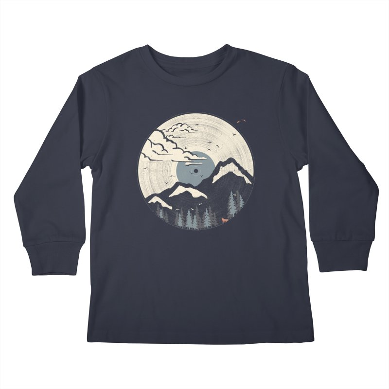 MTN LP... (Blue Variant) Kids Longsleeve T-Shirt by NDTank's Artist Shop