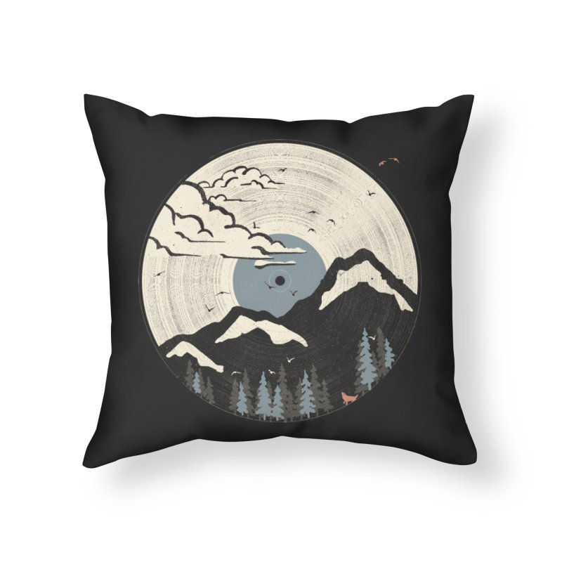 MTN LP... (Blue Variant) Home Throw Pillow by NDTank's Artist Shop
