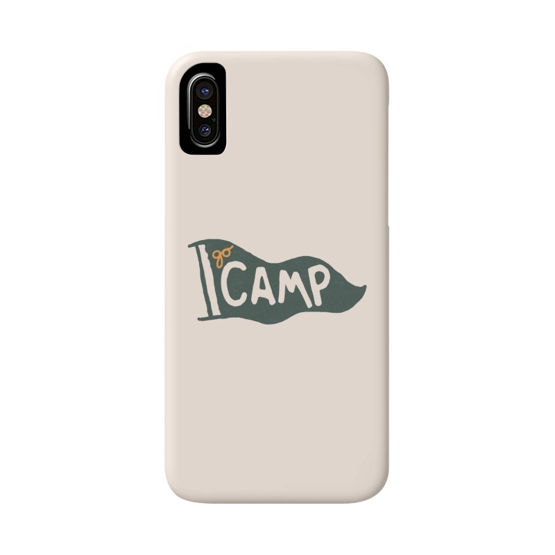 Go Camp... (Green Pennant) Accessories Phone Case by NDTank's Artist Shop