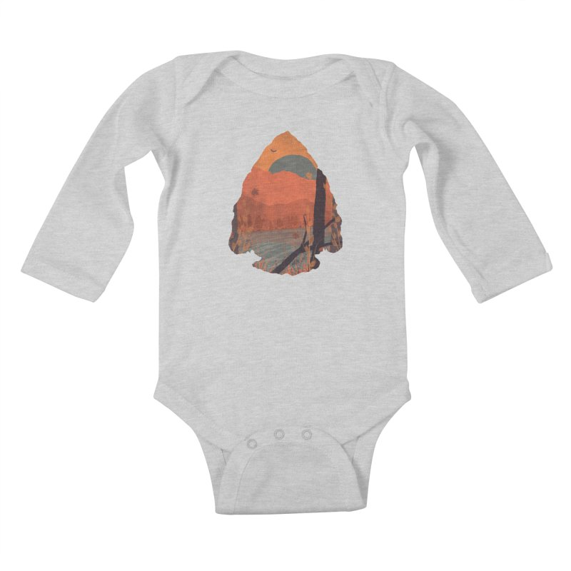 Autumn in the Gorge... Kids Baby Longsleeve Bodysuit by NDTank's Artist Shop
