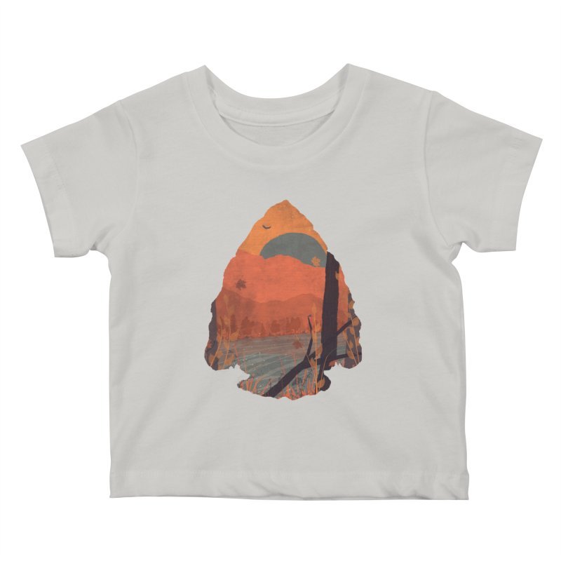 Autumn in the Gorge... Kids Baby T-Shirt by NDTank's Artist Shop