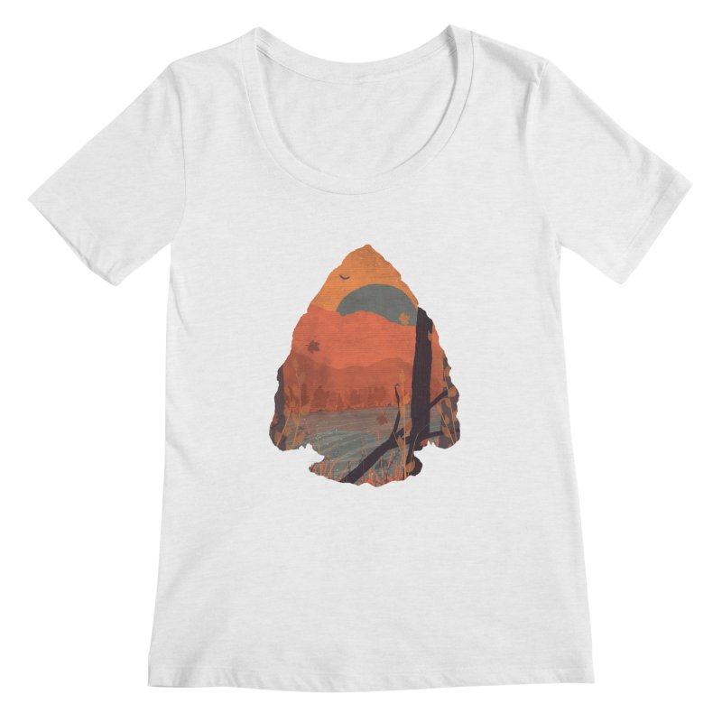 Autumn in the Gorge... Women's Scoopneck by NDTank's Artist Shop