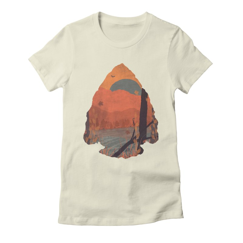 Autumn in the Gorge... Women's Fitted T-Shirt by NDTank's Artist Shop