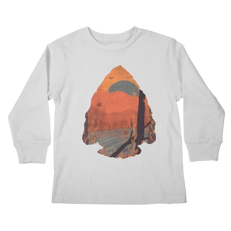 Autumn in the Gorge... Kids Longsleeve T-Shirt by NDTank's Artist Shop