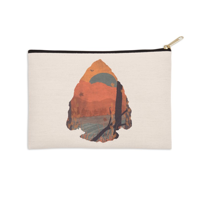 Autumn in the Gorge... Accessories Zip Pouch by NDTank's Artist Shop