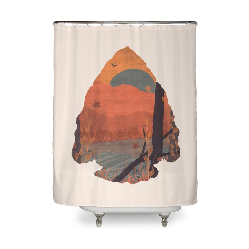 Autumn in the Gorge... Home Shower Curtain by NDTank's Artist Shop