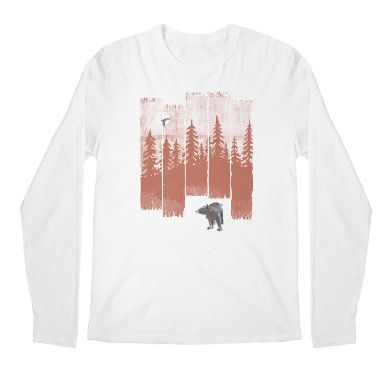 A Bear in the Wild... Men's Longsleeve T-Shirt by NDTank's Artist Shop