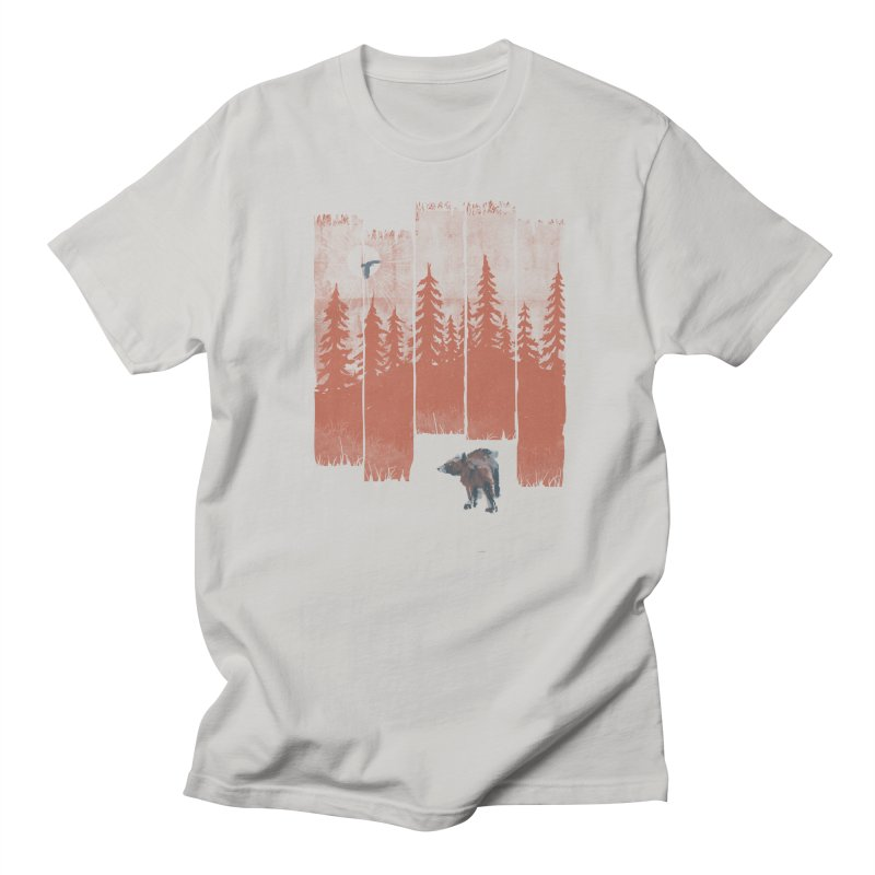 A Bear in the Wild... Men's T-shirt by NDTank's Artist Shop