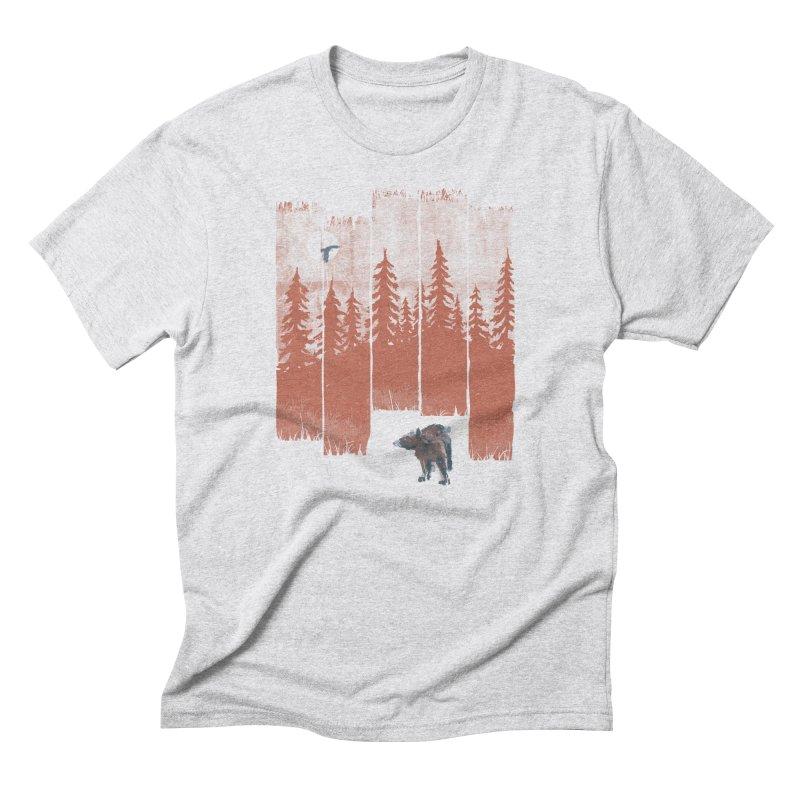 A Bear in the Wild... Men's T-Shirt by NDTank's Artist Shop