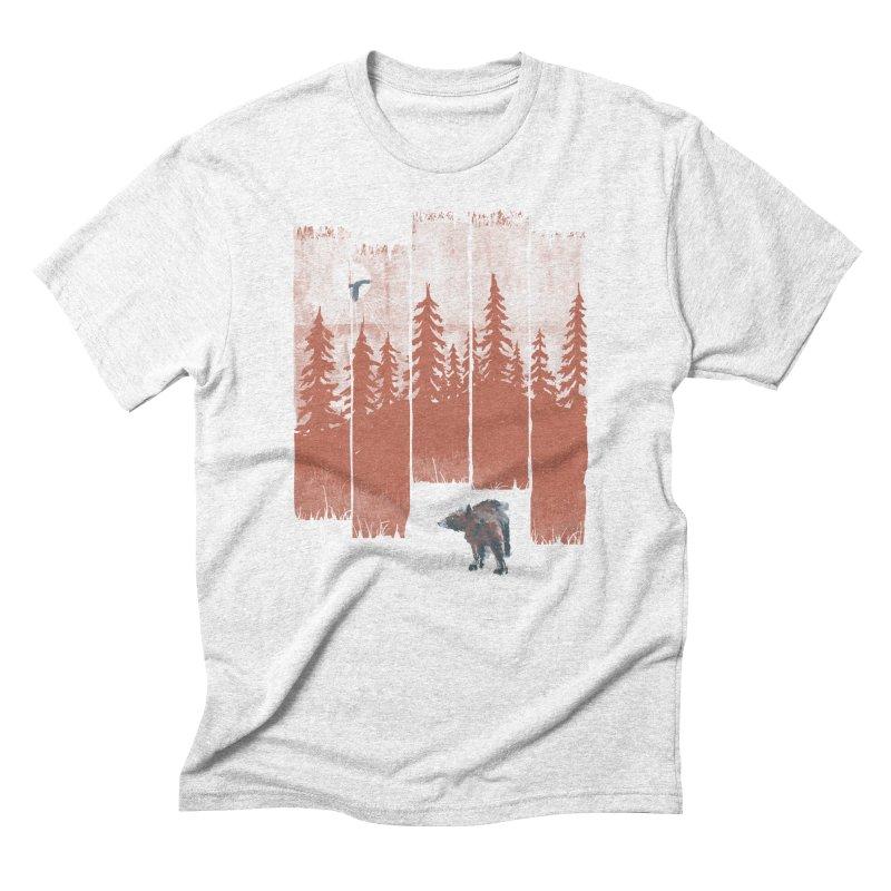 A Bear in the Wild... Men's Triblend T-shirt by NDTank's Artist Shop