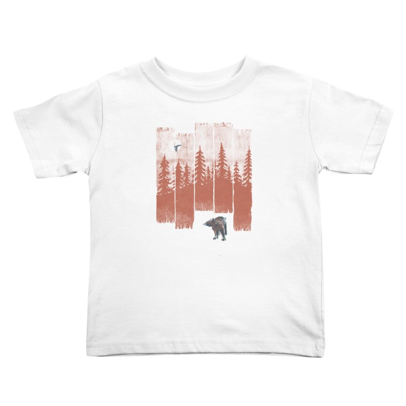A Bear in the Wild... Kids Toddler T-Shirt by NDTank's Artist Shop