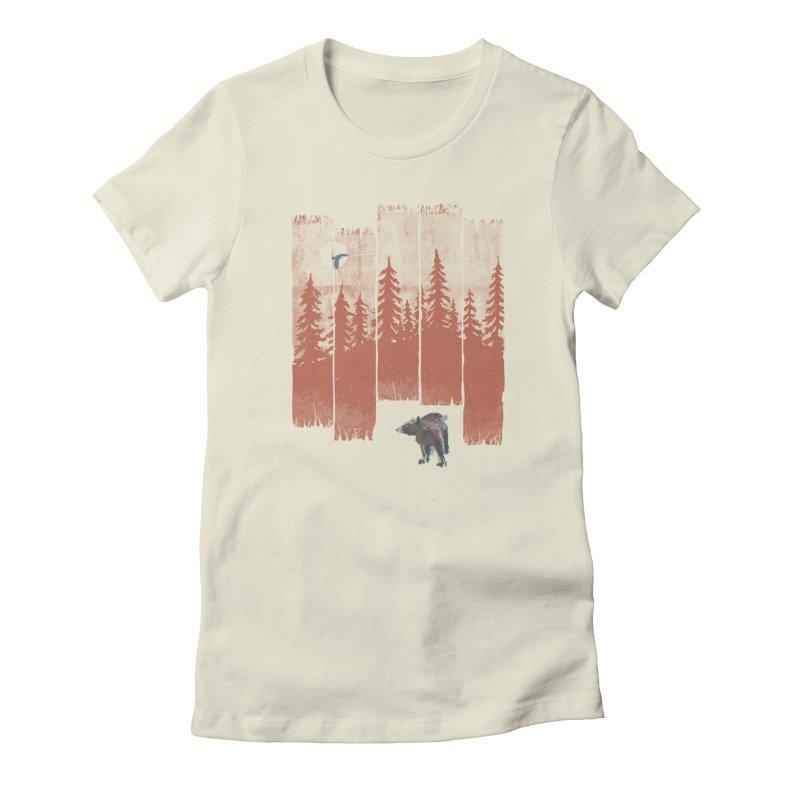 A Bear in the Wild... Women's T-Shirt by NDTank's Artist Shop