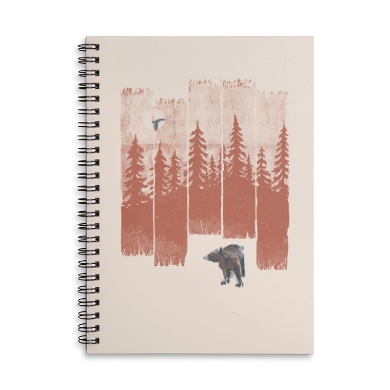 A Bear in the Wild... Accessories Notebook by NDTank's Artist Shop