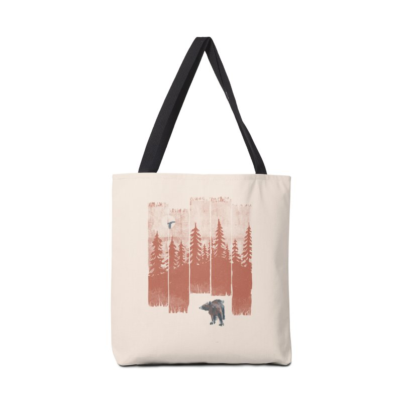 A Bear in the Wild... Accessories Bag by NDTank's Artist Shop