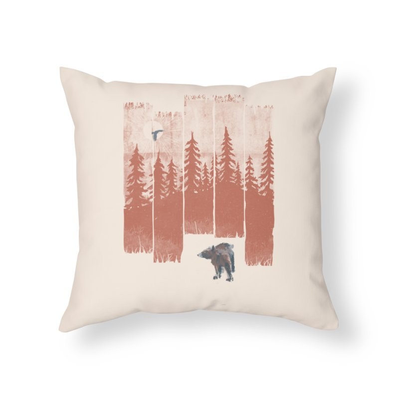 A Bear in the Wild... Home Throw Pillow by NDTank's Artist Shop