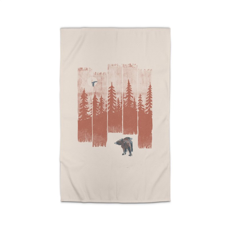 A Bear in the Wild... Home Rug by NDTank's Artist Shop