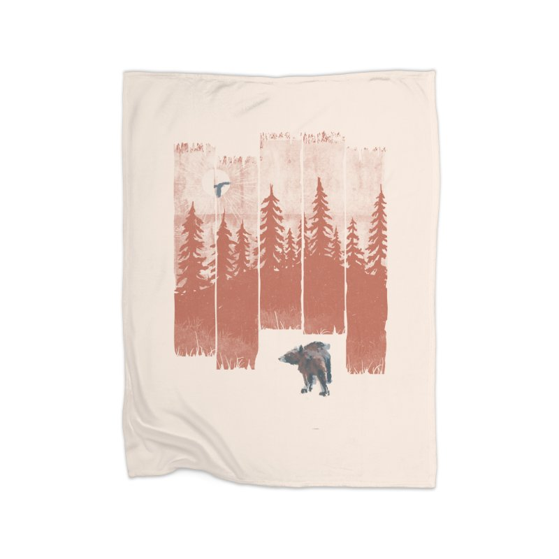 A Bear in the Wild... Home Blanket by NDTank's Artist Shop