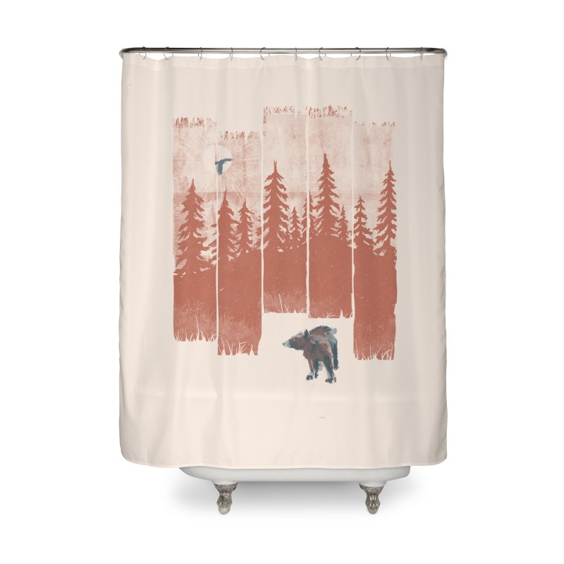 A Bear in the Wild... Home Shower Curtain by NDTank's Artist Shop