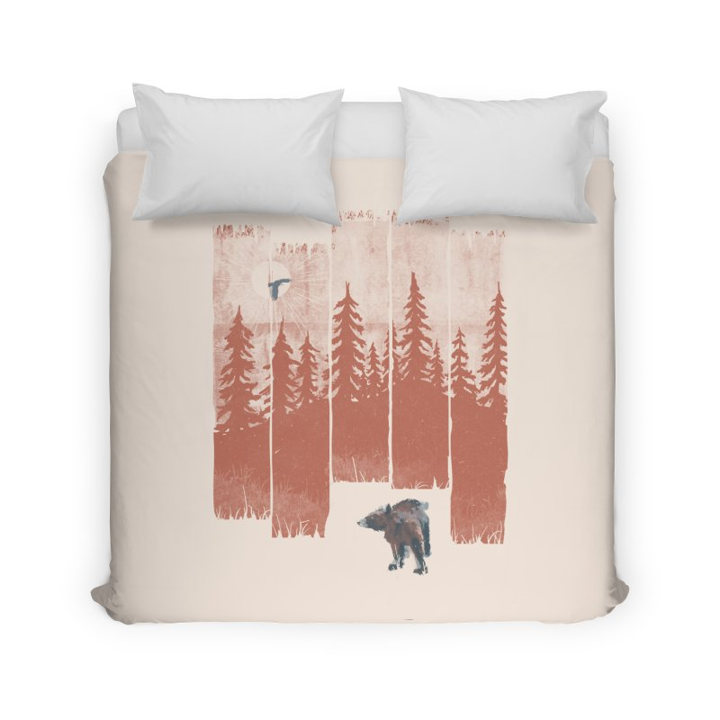 A Bear in the Wild... Home Duvet by NDTank's Artist Shop