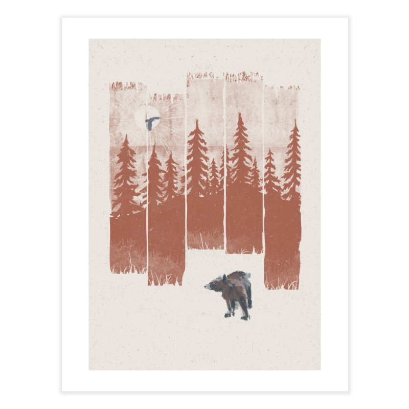 A Bear in the Wild... Home Fine Art Print by NDTank's Artist Shop