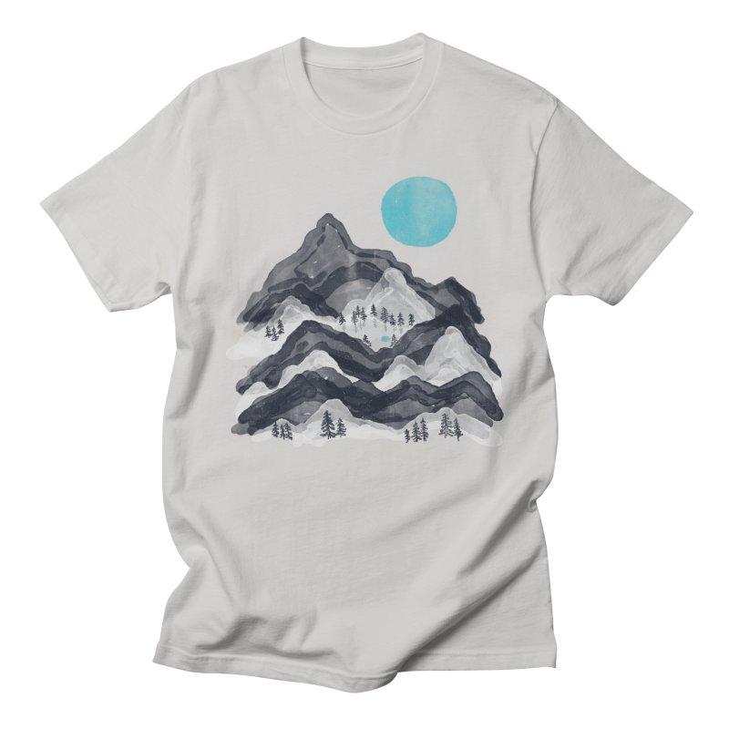 Sun in Moon Lake... Men's T-Shirt by NDTank's Artist Shop