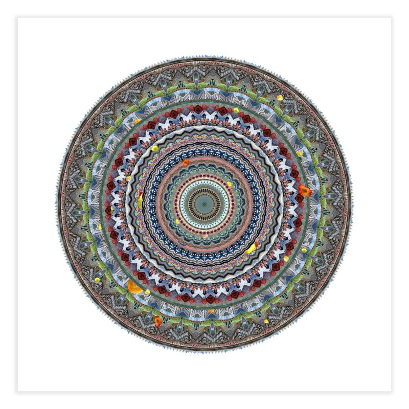 Urban Mandala: Vancouver in Fine Art Print by Urban Mandala Framed Prints by Neal Peterson