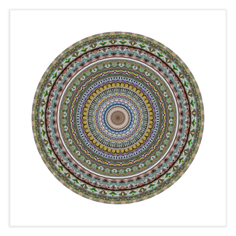 Urban Mandala: New Orleans: French Quarter in Fine Art Print by Urban Mandala Framed Prints by Neal Peterson