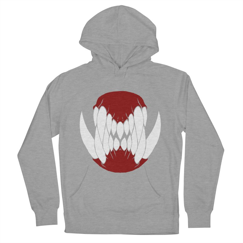 Ball Of Teeth Women's Pullover Hoody by Necrotic Pixie's Artist Shop